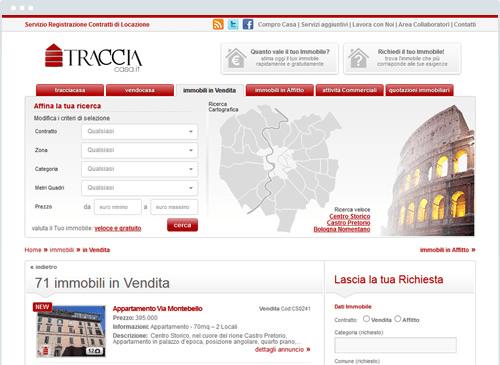 Design Tracciacasa