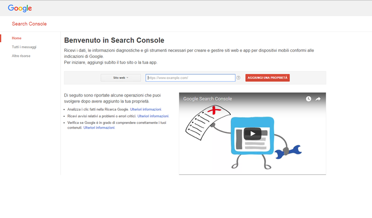 Google-Search-Console-panel